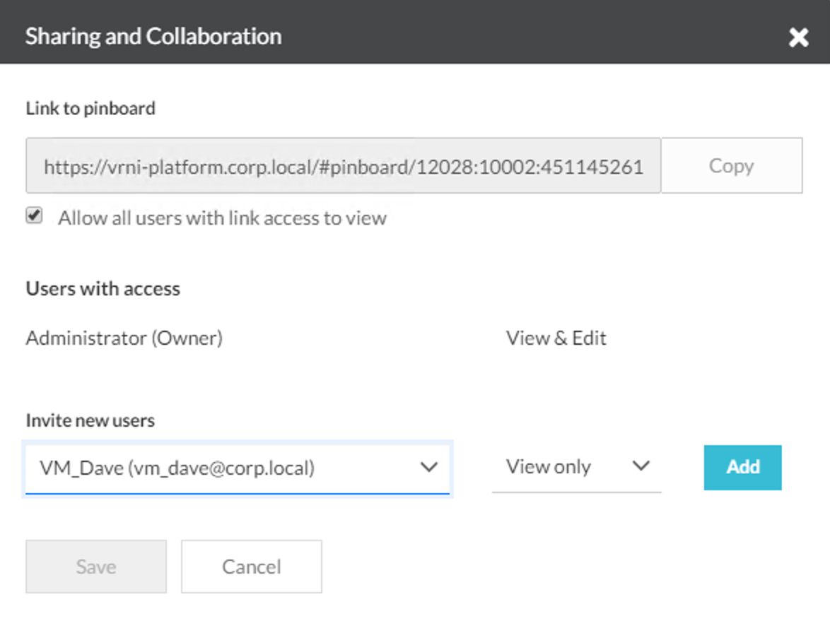 Creating a Security Audit Dashboard with vRealize Network